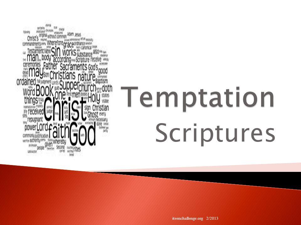 Scriptures iteenchallenge.org 2/2013