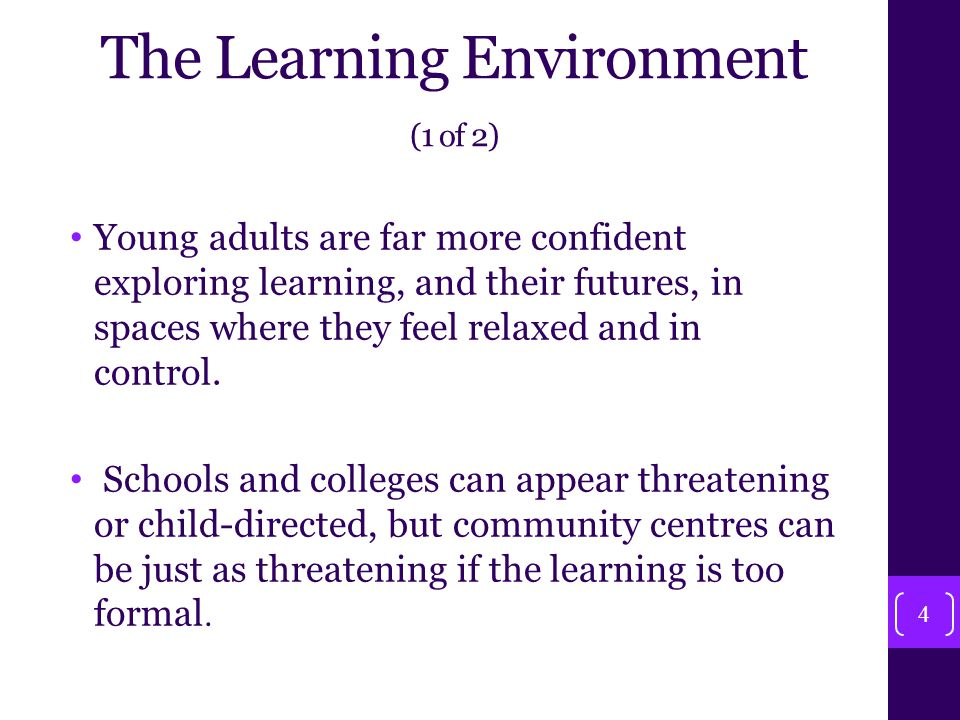Sustaining learners' Involvement 25