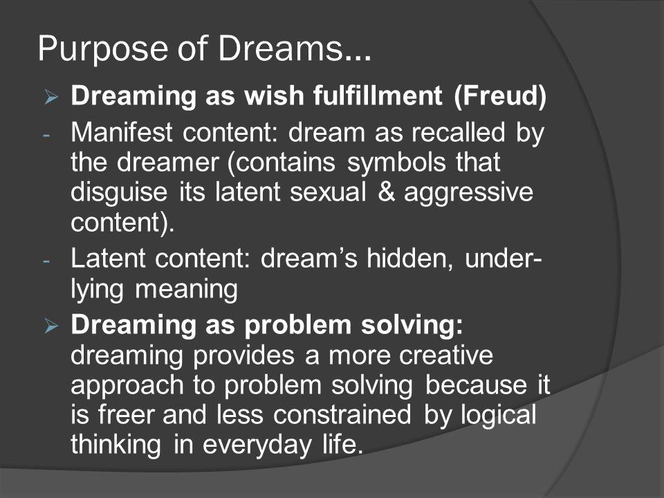 Purpose of Dreams...