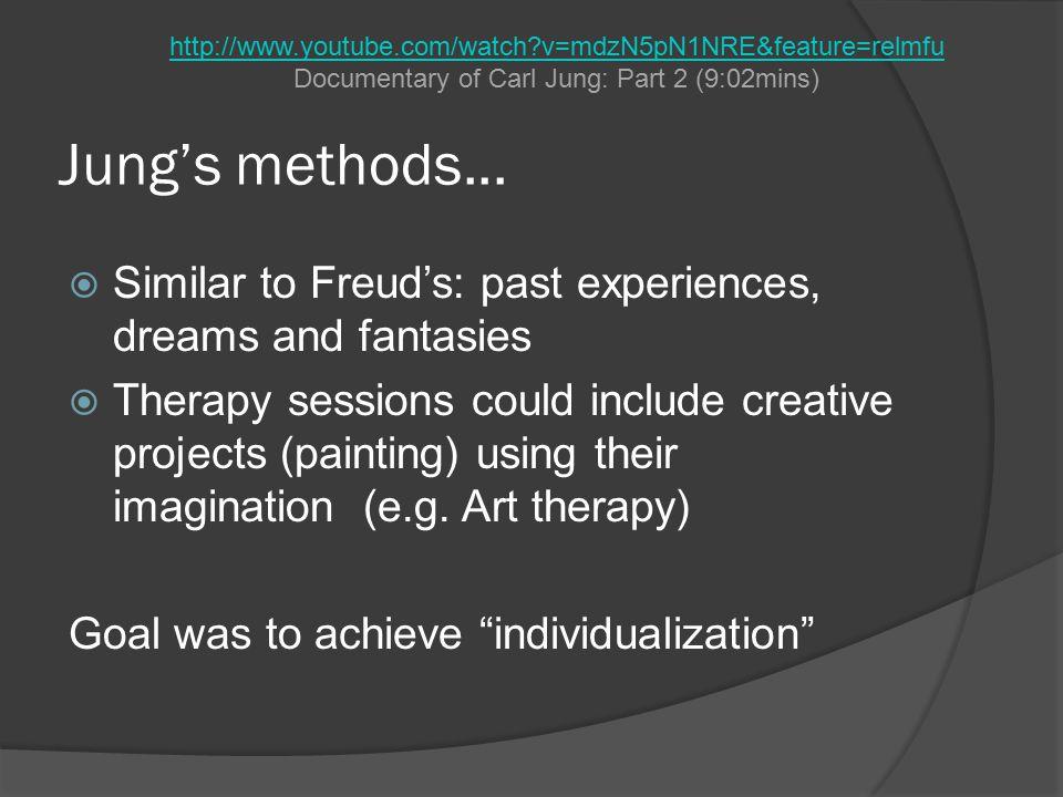 Jung's methods...