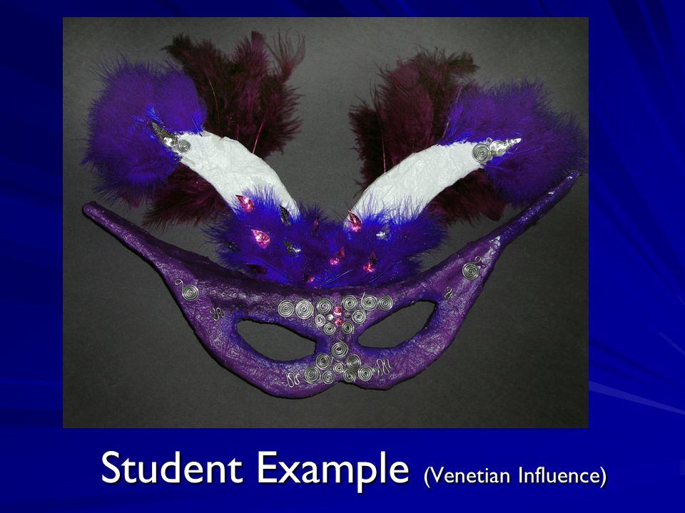 Student Example (Venetian Influence)
