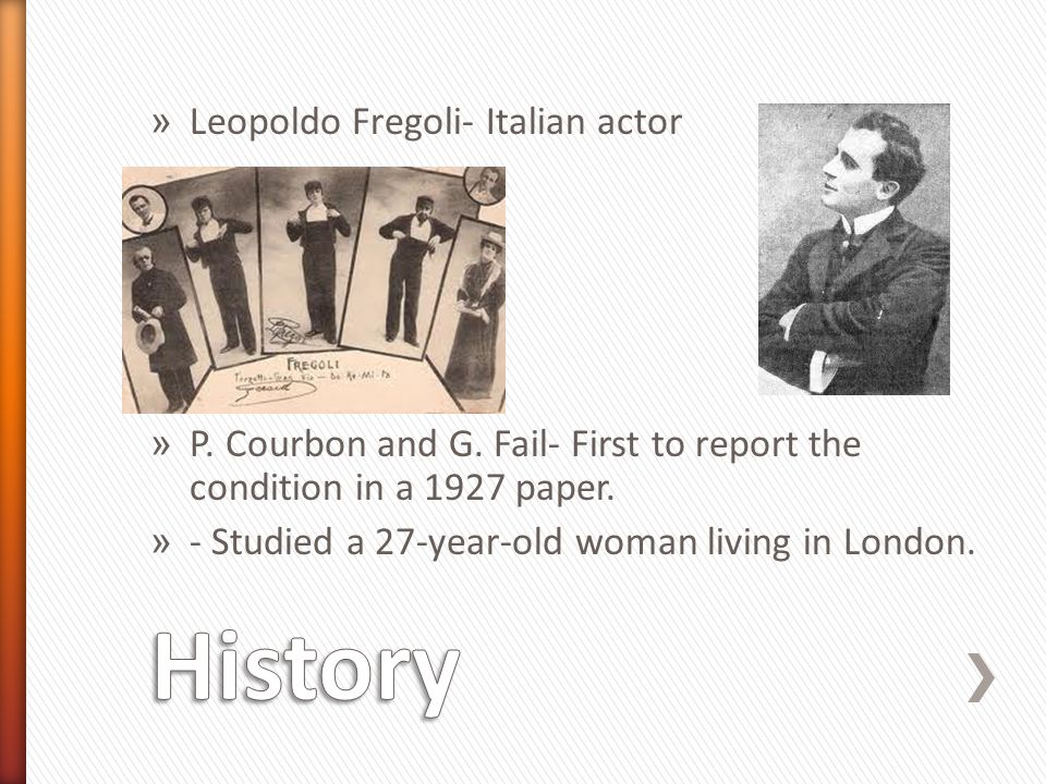 » Leopoldo Fregoli- Italian actor » P. Courbon and G.