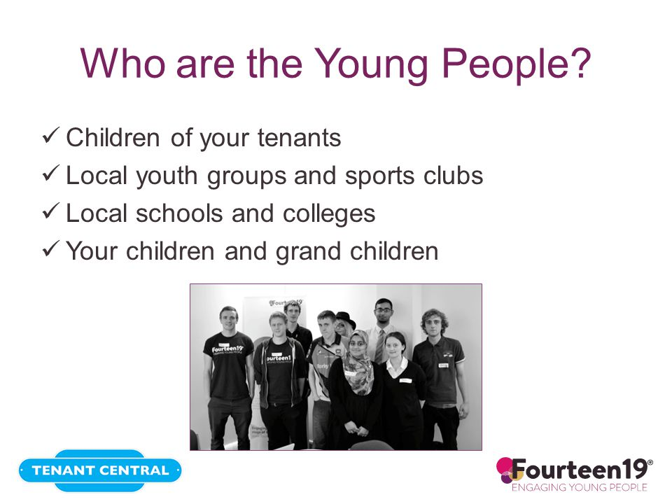 Who are the Young People.