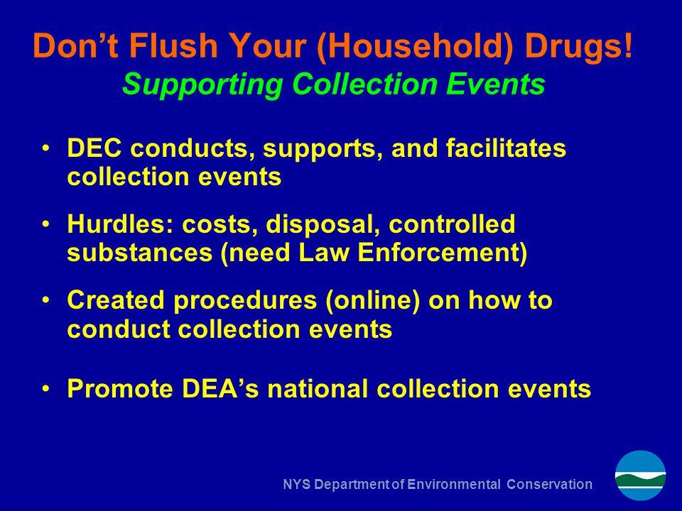 Don't Flush Your (Household) Drugs.