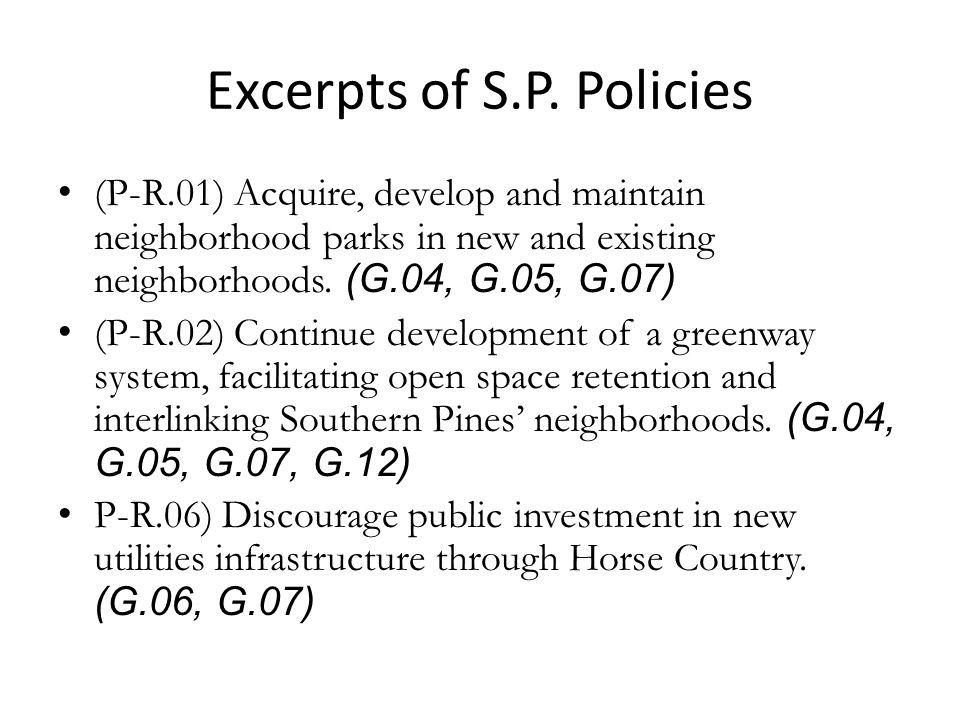 Excerpts of S.P.