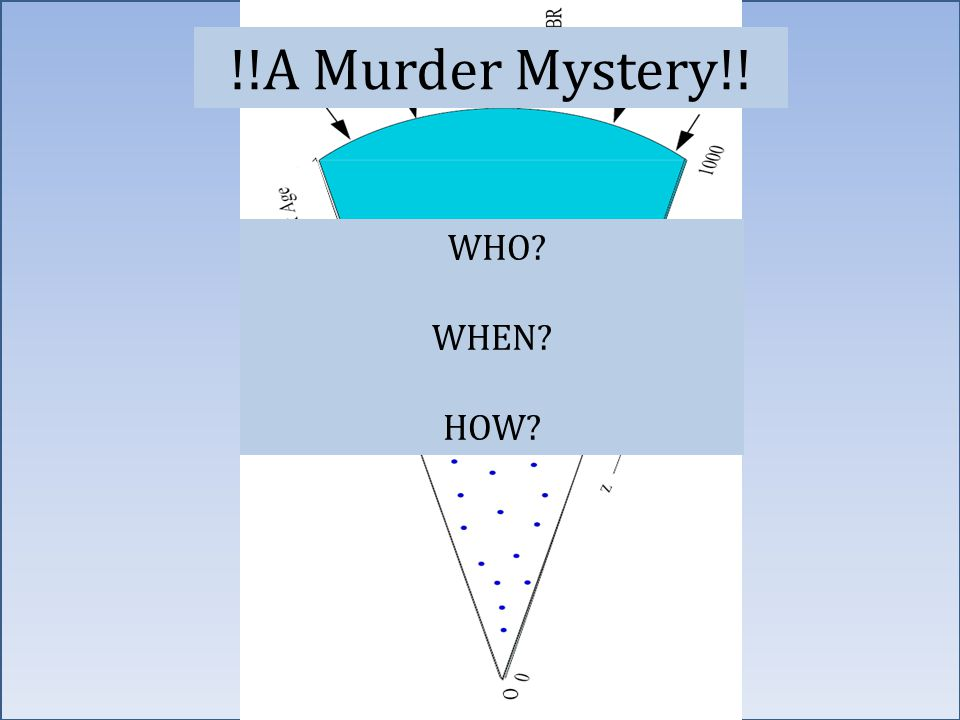 90 WHO WHEN HOW !!A Murder Mystery!!