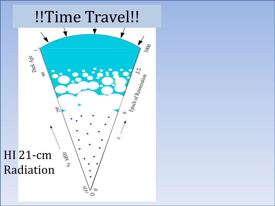 90 HI 21-cm Radiation !!Time Travel!!