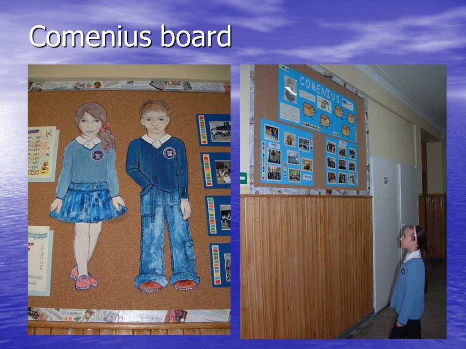 Comenius board