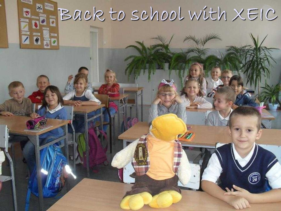 Back to school with XEIC