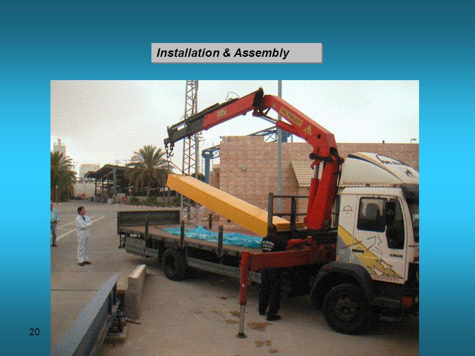 20 Installation & Assembly