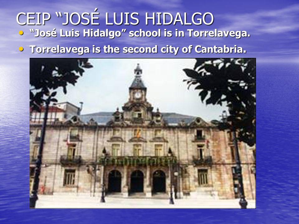 CEIP JOSÉ LUIS HIDALGO José Luis Hidalgo school is in Torrelavega.