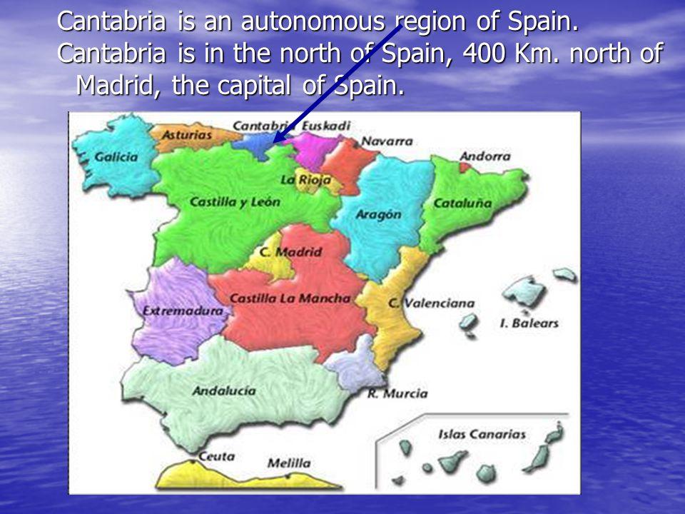 Spanish flag Cantabria flag