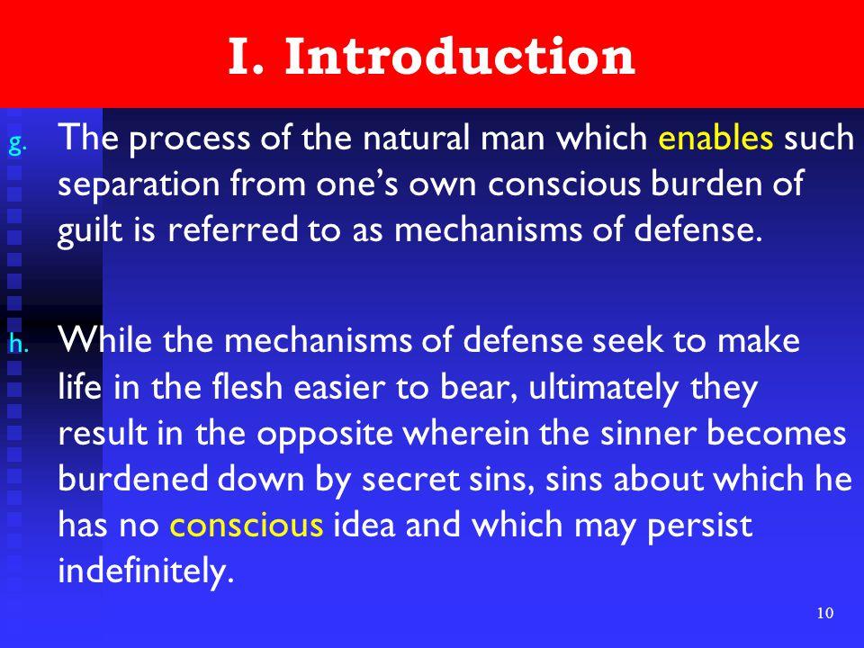 10 I. Introduction g.