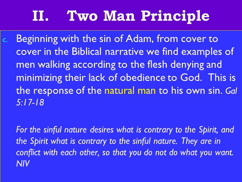 13 II.Two Man Principle c.