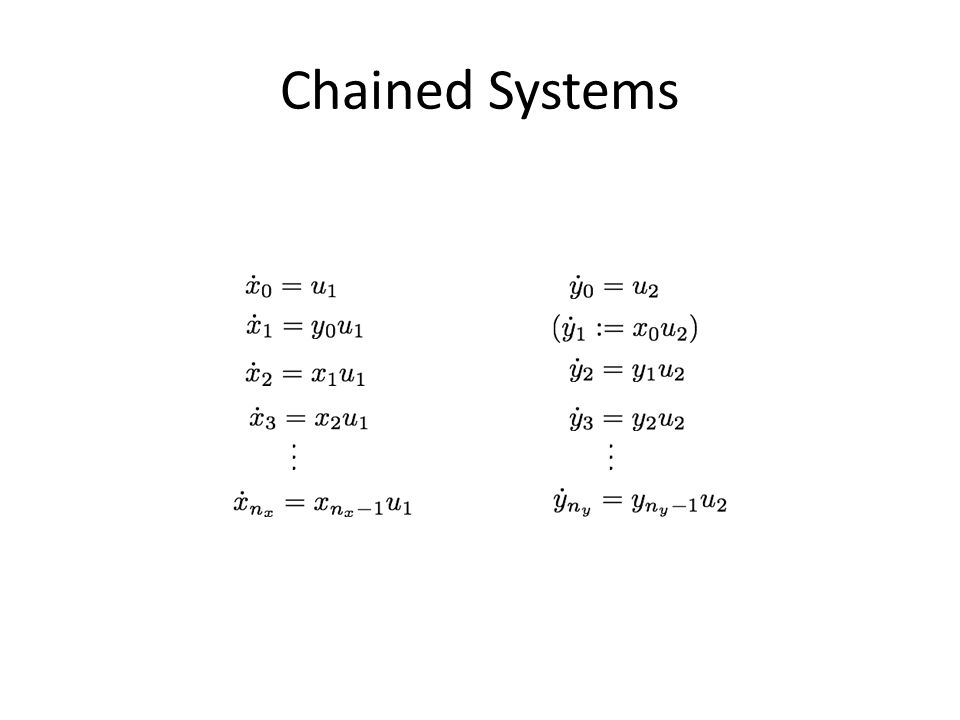 Chained Systems