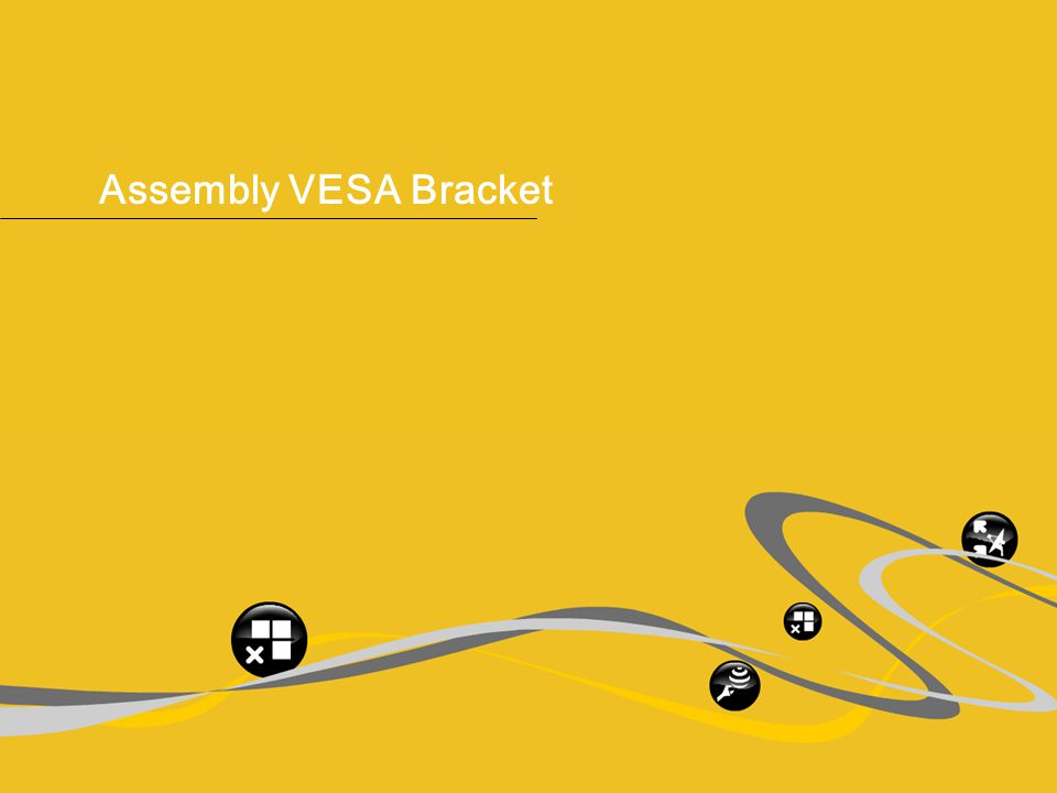 ® IGEL Technology Simply one. 15 Product Slides – IGEL one, April 2009 Assembly VESA Bracket