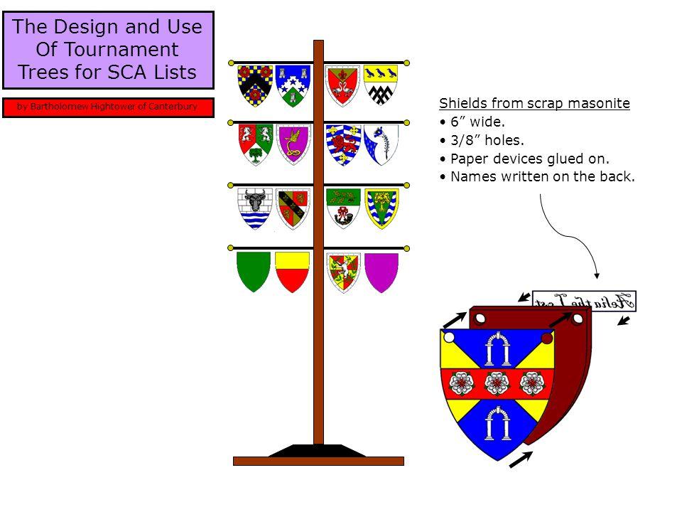 The tree is nice for several reasons: Enhanced heraldic display.
