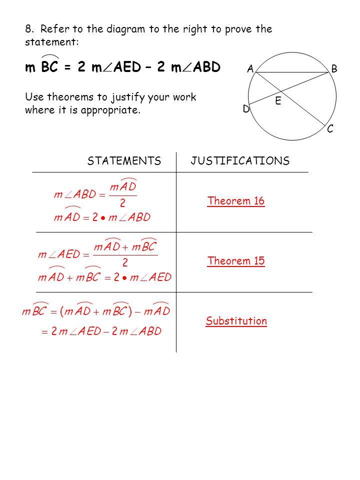 AB C D E 8.
