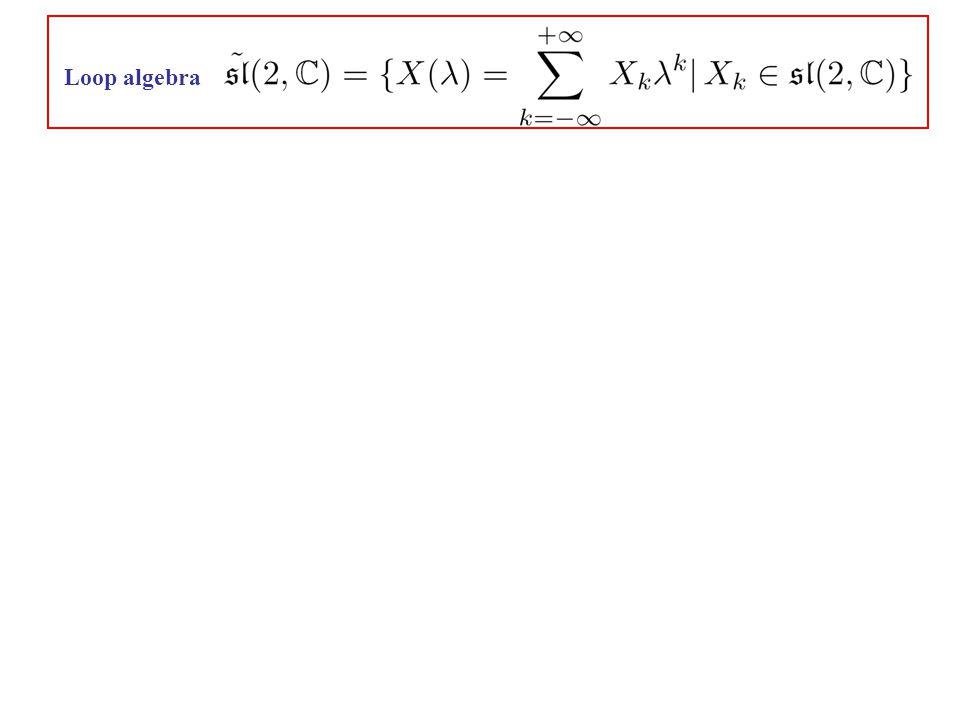 Loop algebra