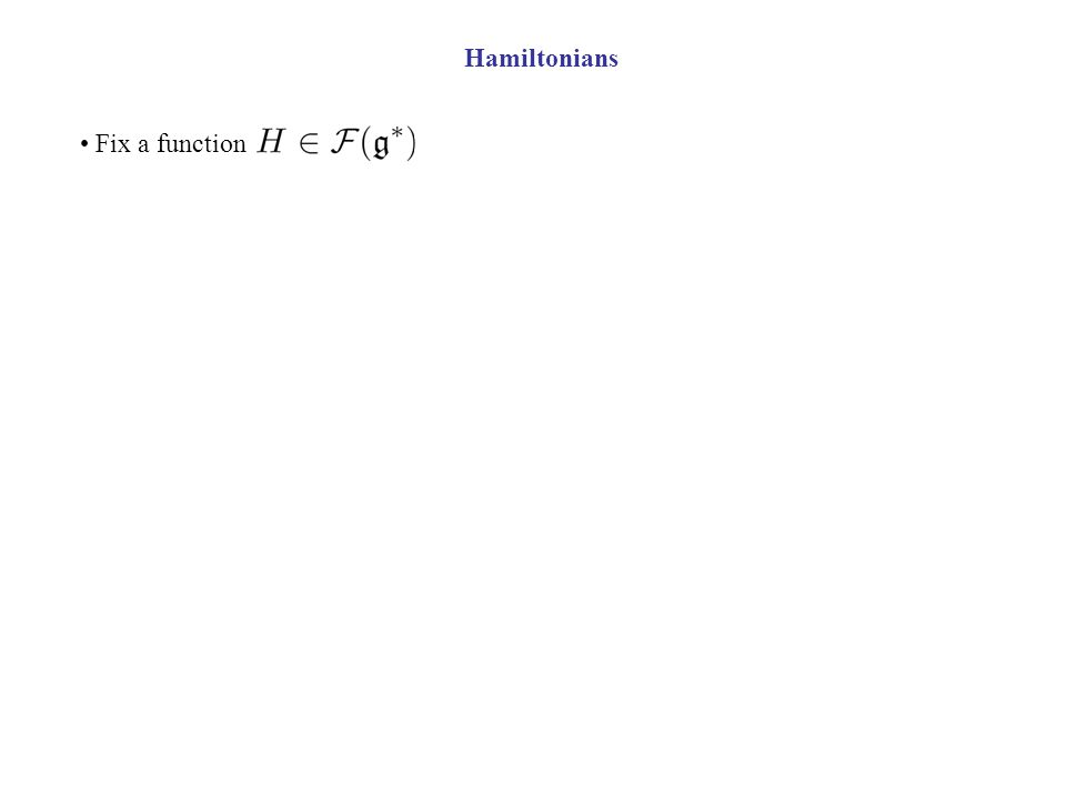 Fix a function
