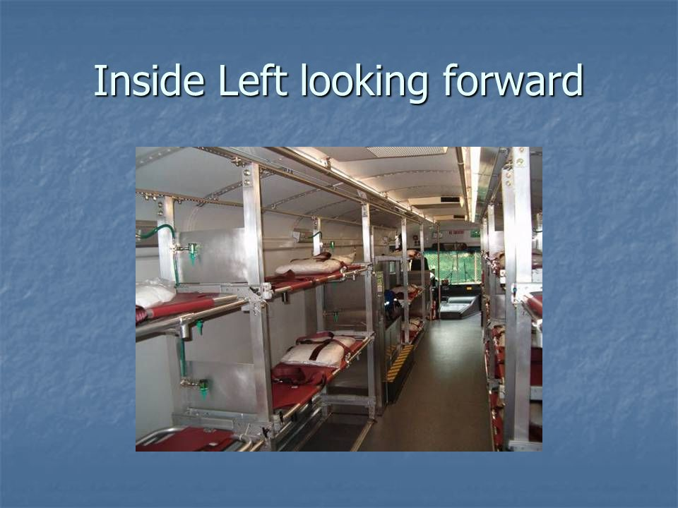 Inside Left looking forward