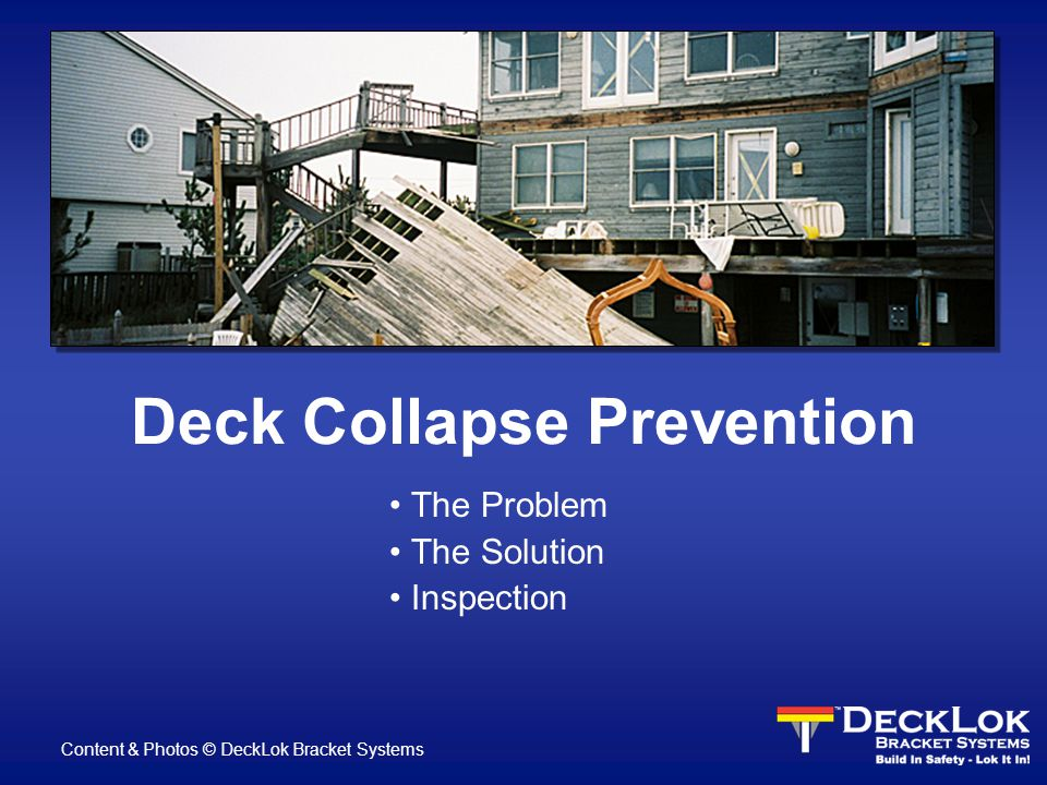 How can it happen.It's the Deck Industry s best kept secret.