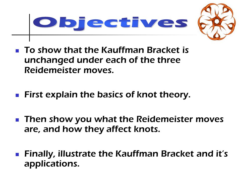Kauffman Bracket In Polynomial Terms if is an edge corresponding to: A negative crossing: There exists a graph such that where and denote deletion and contraction of the edge from A positive crossing: There exists a graph G such that