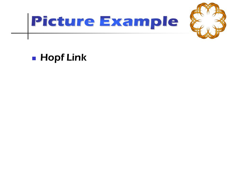 Hopf Link