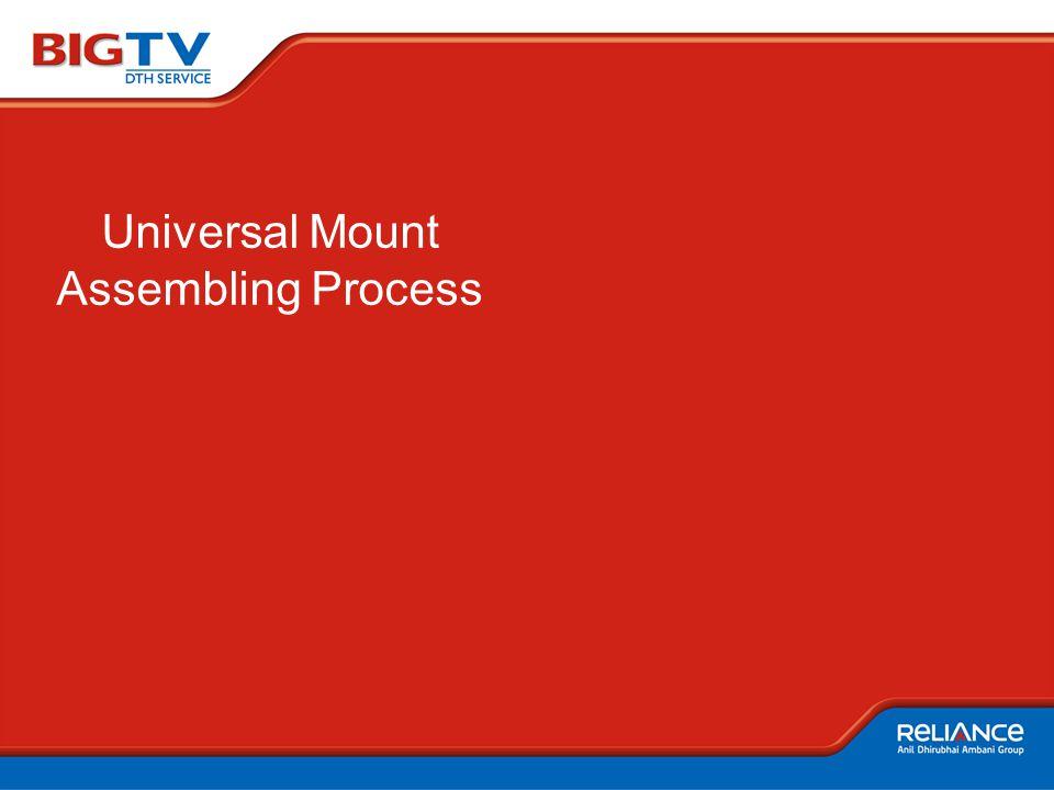 Universal Mount Assembling Process