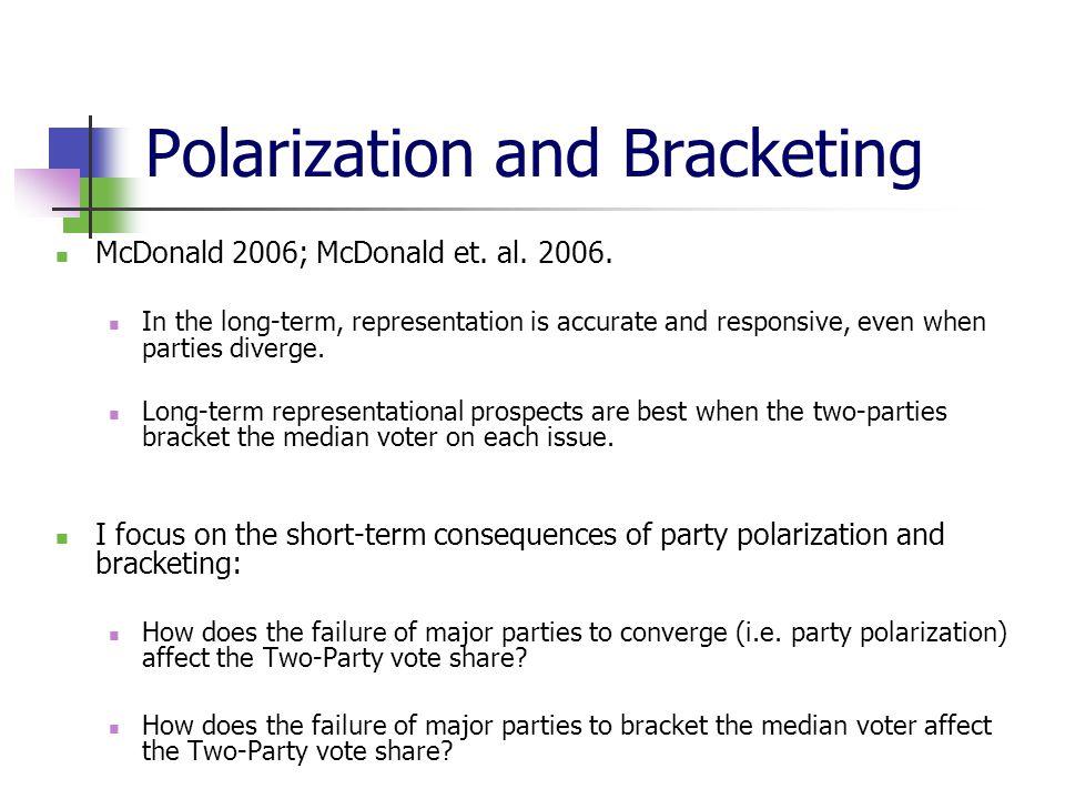 Polarization and Bracketing McDonald 2006; McDonald et.