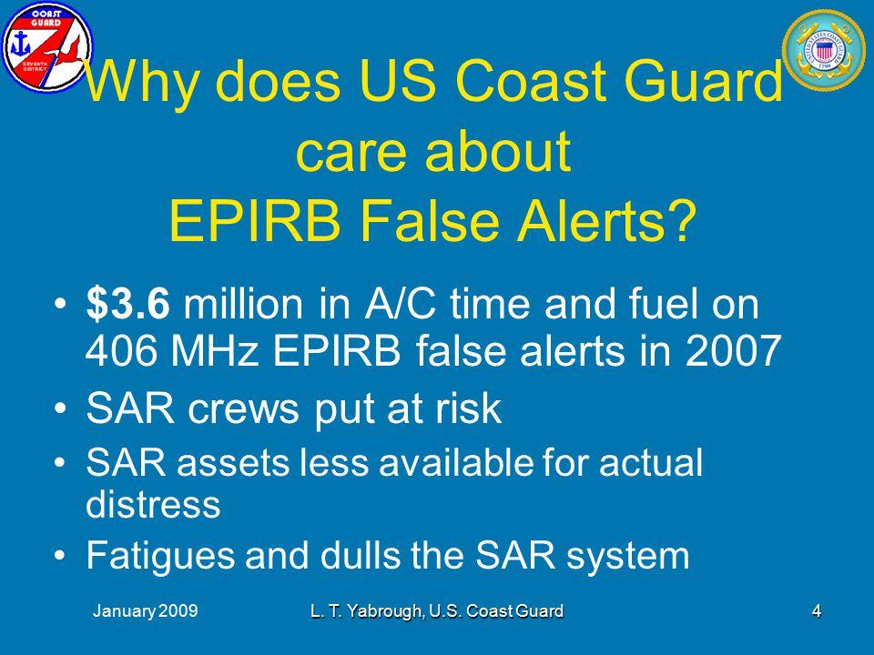 January 2009L. T. Yabrough, U.S. Coast Guard5
