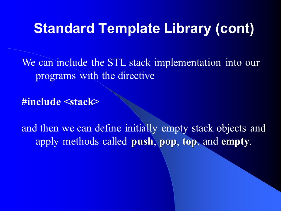 Refinement of Data Specification (cont) Programming Precepts Let your data structure your program.