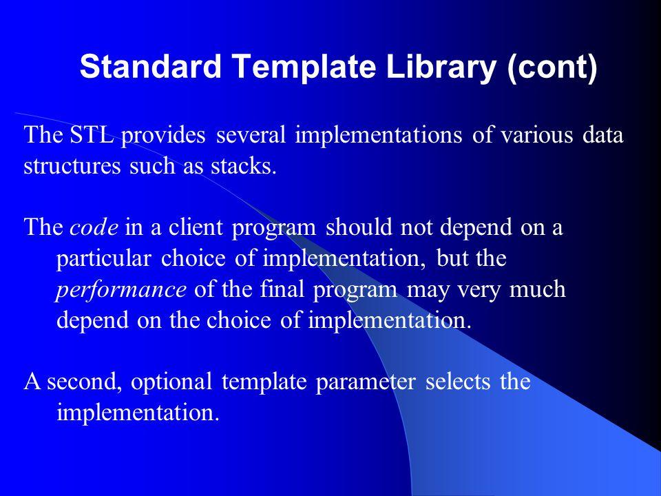 Specification for Methods Error_code Stack :: pop( ); Pre: None.