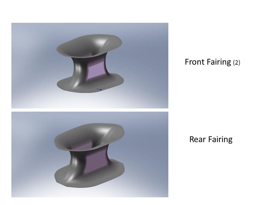 Front Fairing (2) Rear Fairing