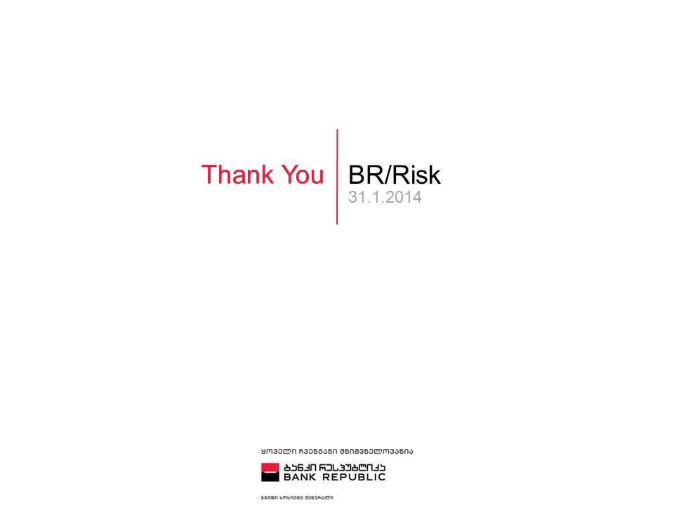 Thank You BR/Risk 31.1.2014