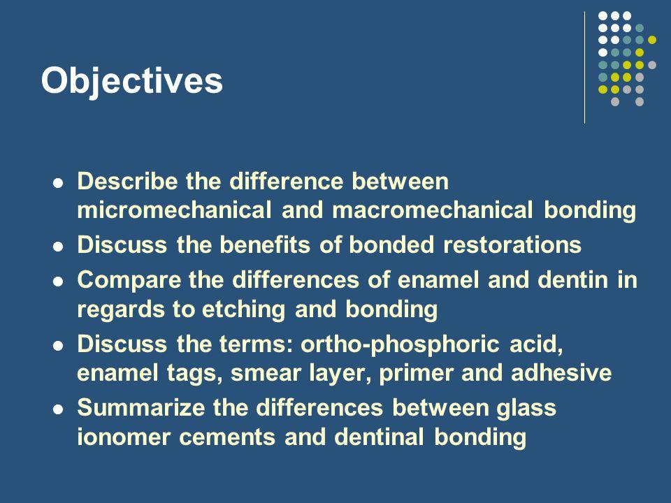 Why use adhesives.