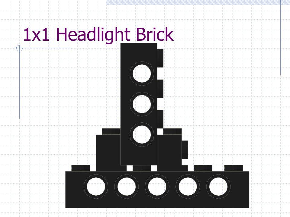 1x1 Headlight Brick