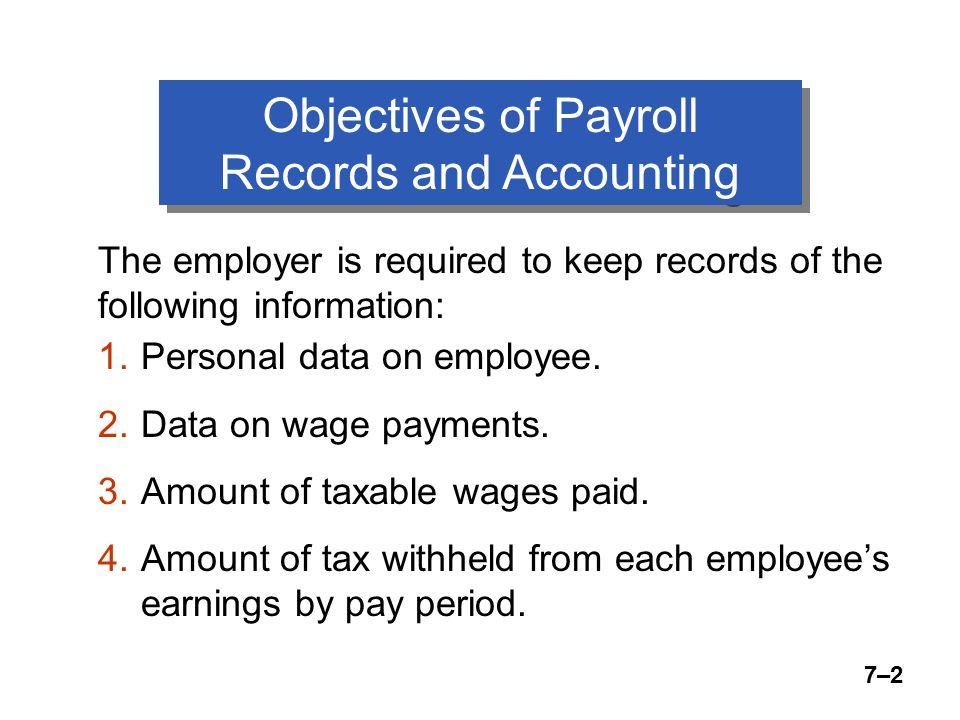 7–23 Employee Earnings Record