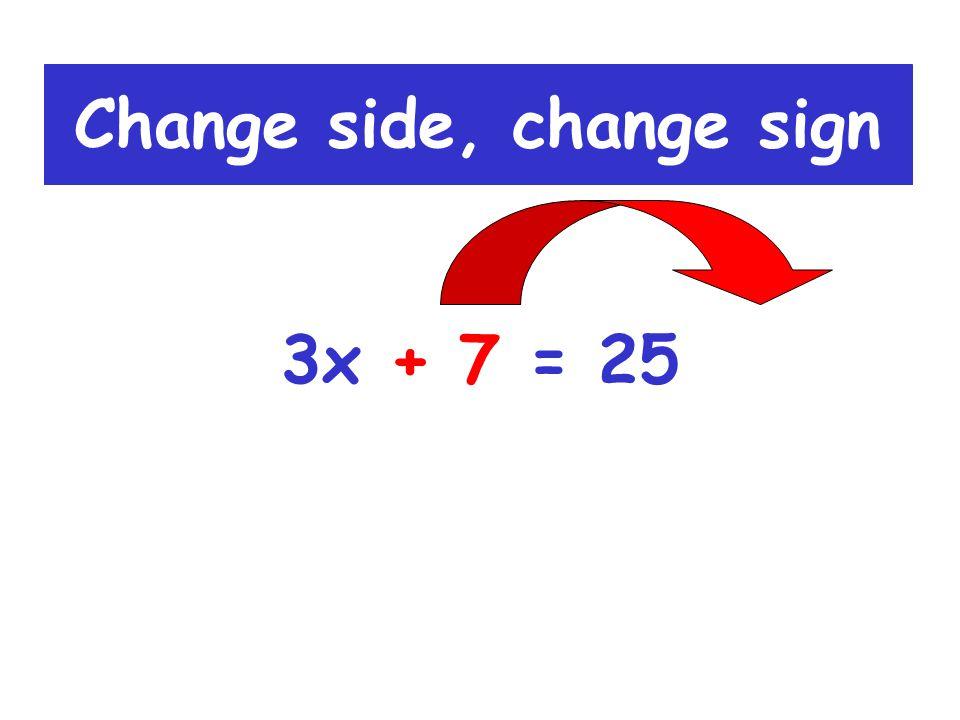 5x - 6 = 44 5x = 44 + 6 5x = 50 Example 4: x = 10