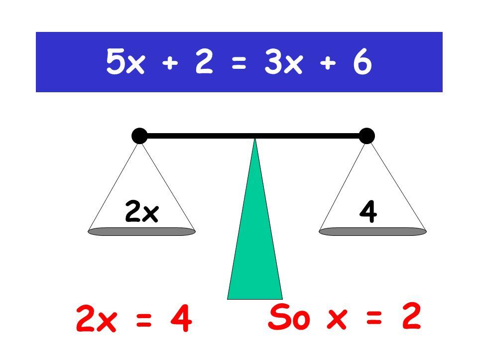 5x 4 (-3x)