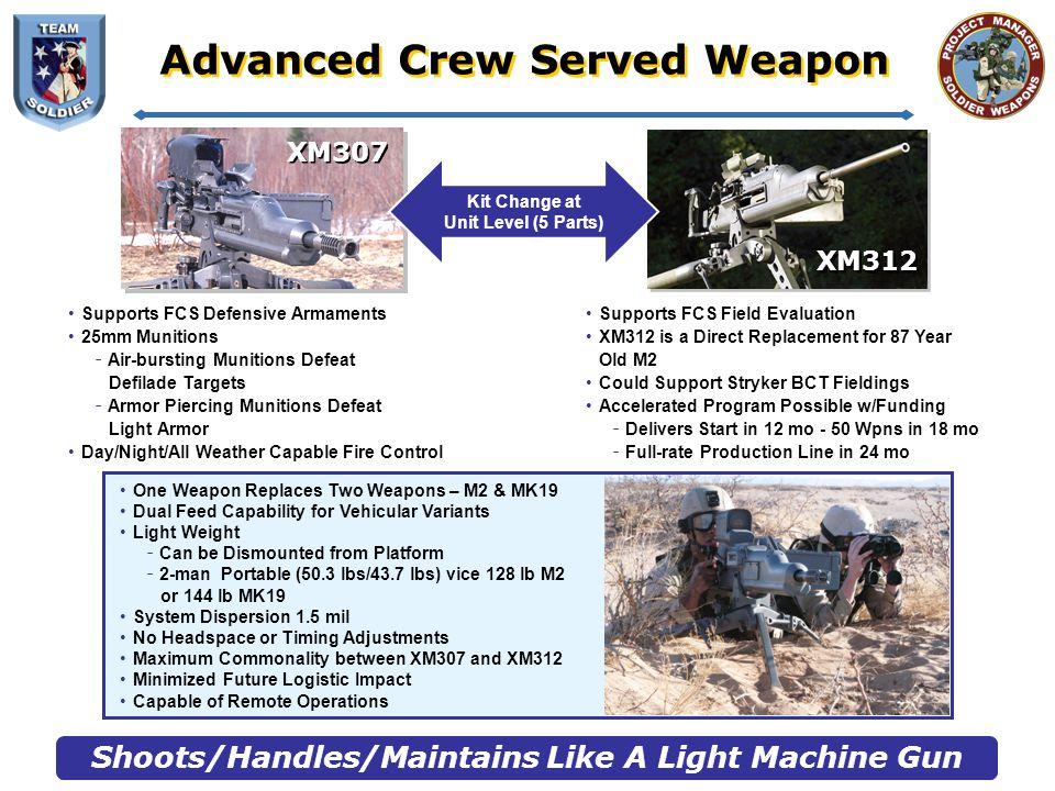 Advanced Crew Served Weapon Firings
