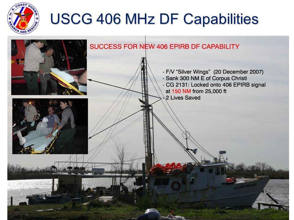 USCG 406 MHz DF Capabilities