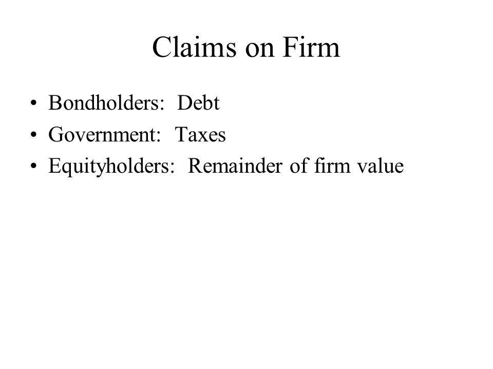 M&M and Taxes Value of firm = Value of all-equity-financed firm + PV(tax shield)