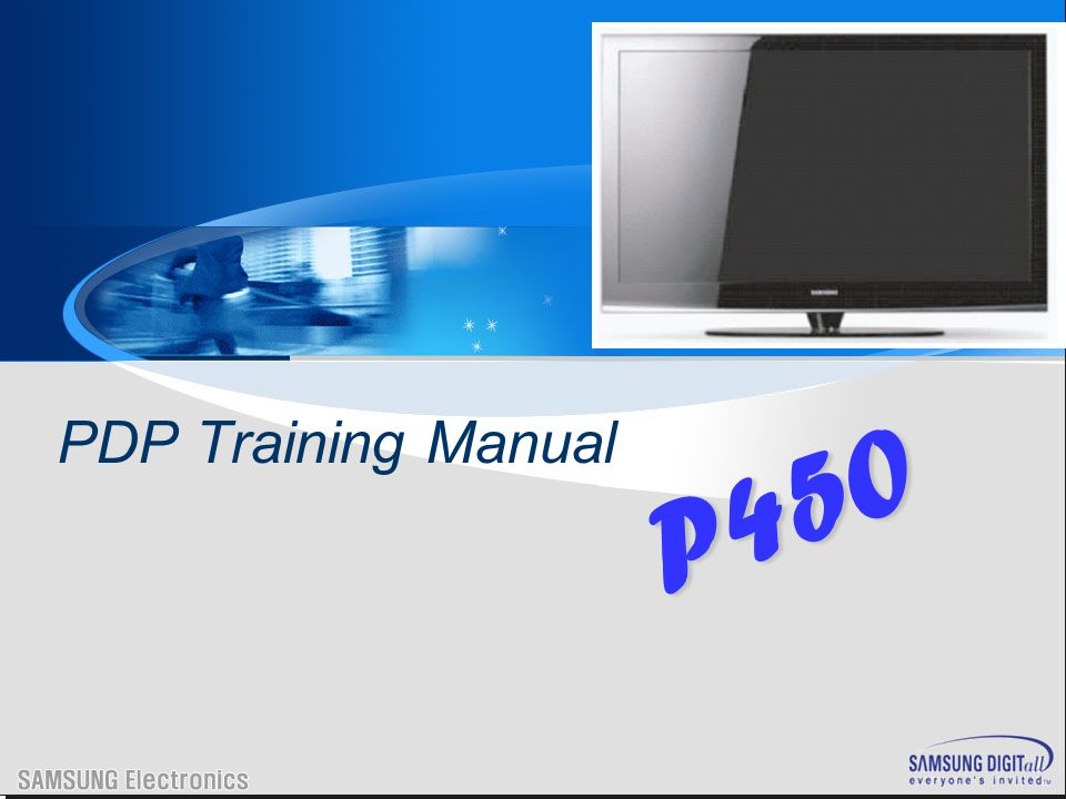 1. P450 Training 2. Disassembly 3. Trouble shooting 4.Appendix -. PC Timming -. 3D Function Agenda