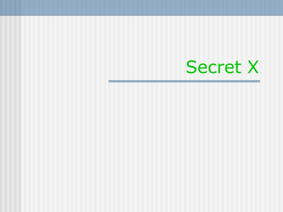 Secret X