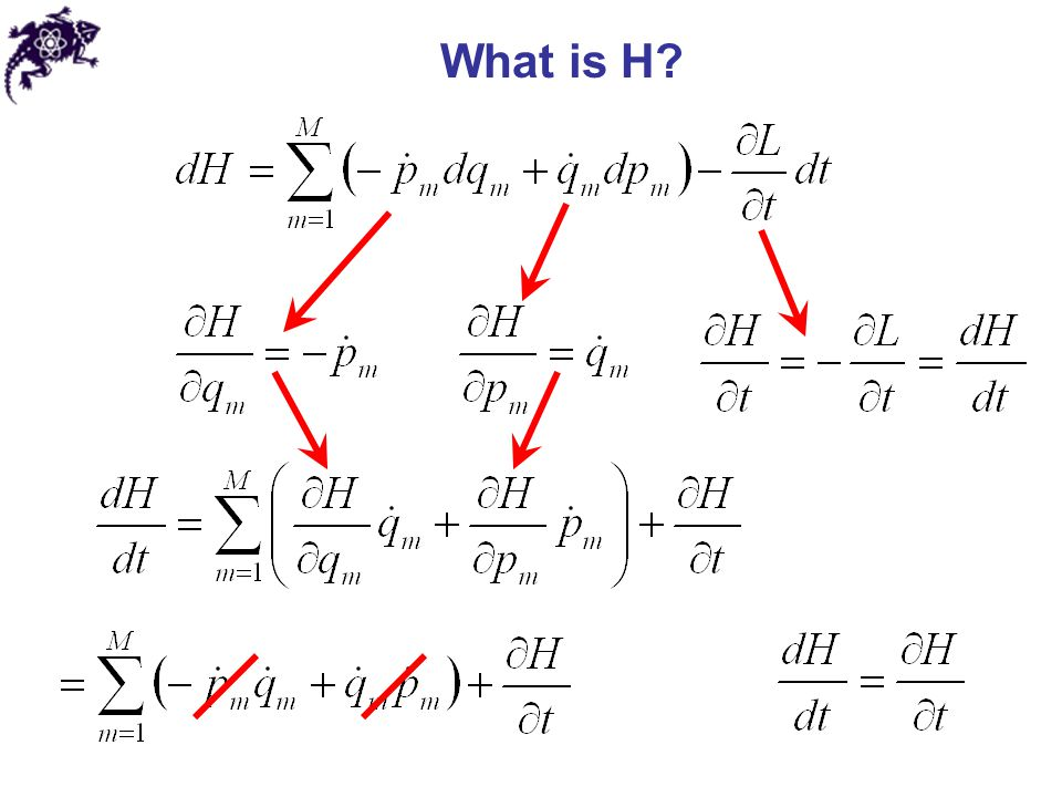 If Then Kinetic energy In generalized coordinates