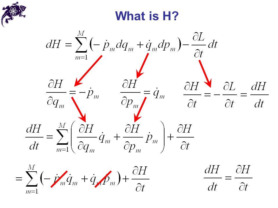 Lagrangian to Hamiltonian Inverting this equation Then a Hamiltonian