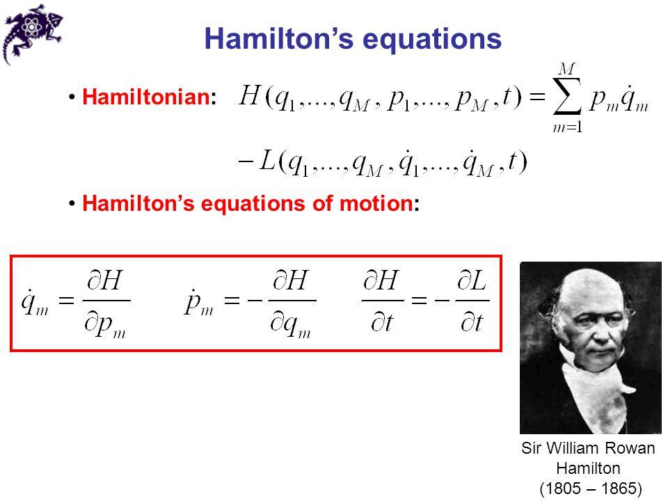Infinitesimal canonical transformations Infinitesimal canonical transformations: In symplectic notation: 9.4