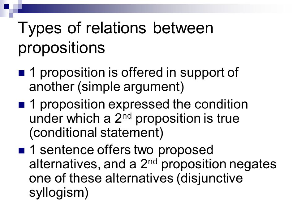 Propositional Symbols Symbolizing propositions allows us to focus on the relations between propositions (logic) rather than the content of those propositions (truth).