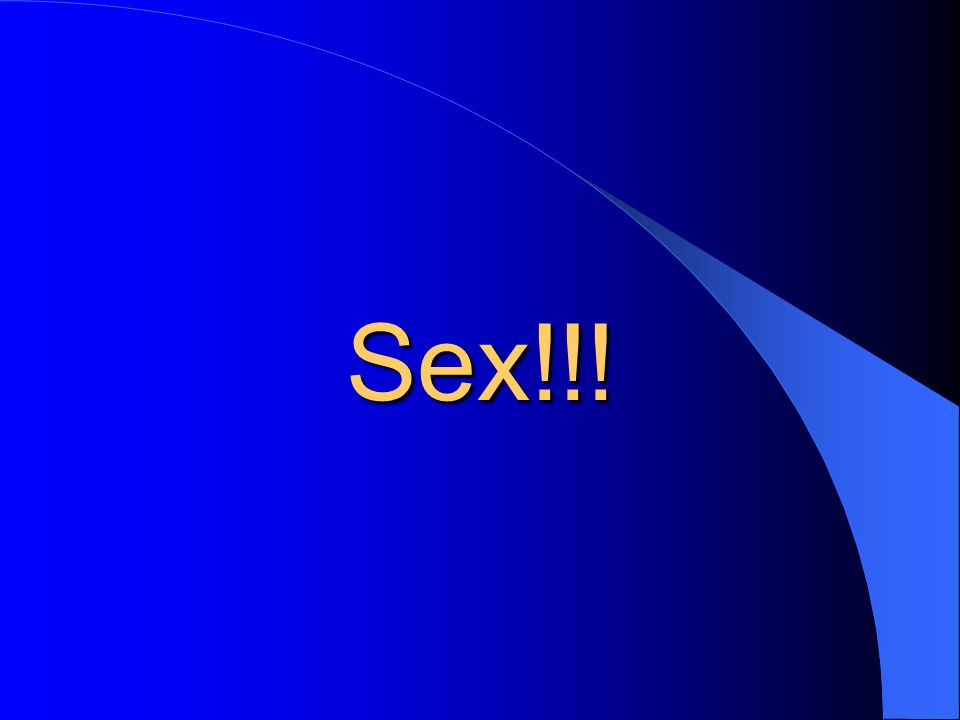 Sex!!!